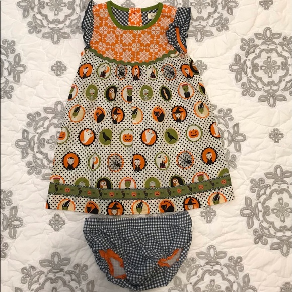 Halloween Dress with bloomers